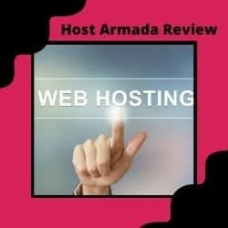 Finger Pointing At Web Hosting Sign