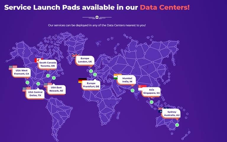 Host Armada 9 DataCenters