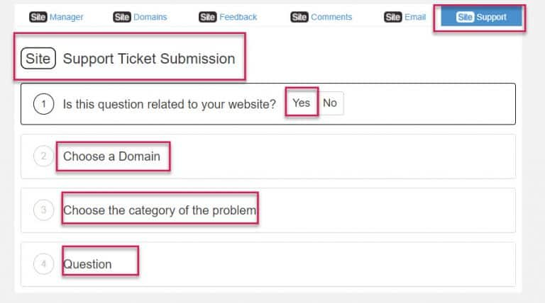Submit A Ticket To Wealthy Affiliate Hosting Support