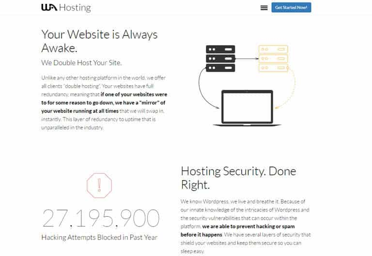 Wealthy Affiliate Hosting Has Double Hosting