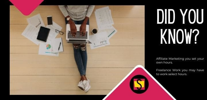Affiliate Marketing VS Freelancing Did You Know 1