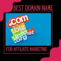 Best Domain Name For Affiliate Marketing