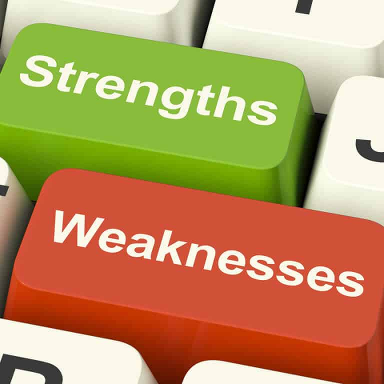 Strengths Weaknesses Pros And Cons