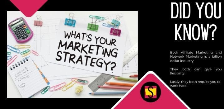 Whats Your Marketing Strategy Affiliate Marketing Or Network Marketing